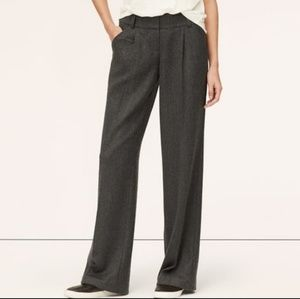 Gray/taupe pleated trousers - great for work